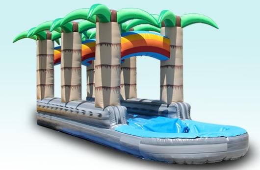 Tropical Slip-n-Slide